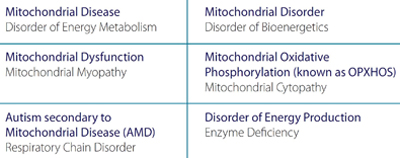 Mitochondrial Disorder Defined
