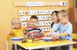 Autistic Children in Classroom Environment